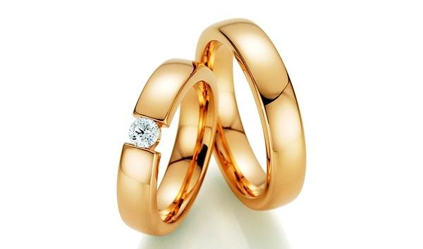 Trauringe Eheringe mit Diamanten